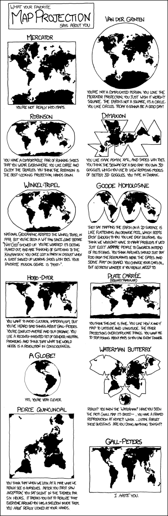 xkcd map projections