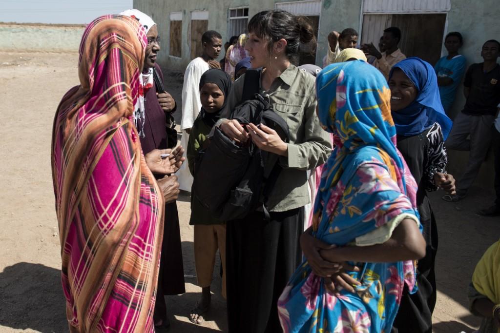 Amy Maxmen reporting in Sudan.