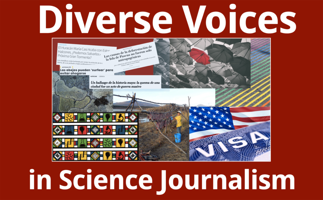 Diverse Voices in Science Journalism