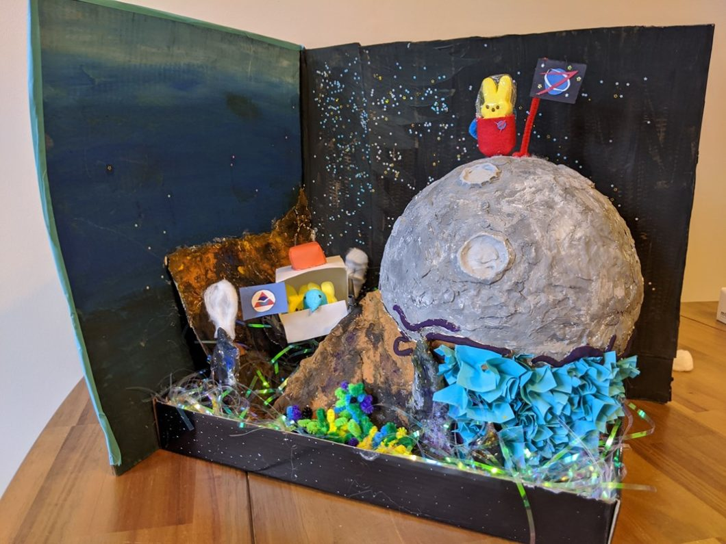 Diorama: Exploration by Peeps and Bounds