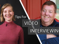 Lights, Camera, Interview: Getting the Most out of a Video Interview