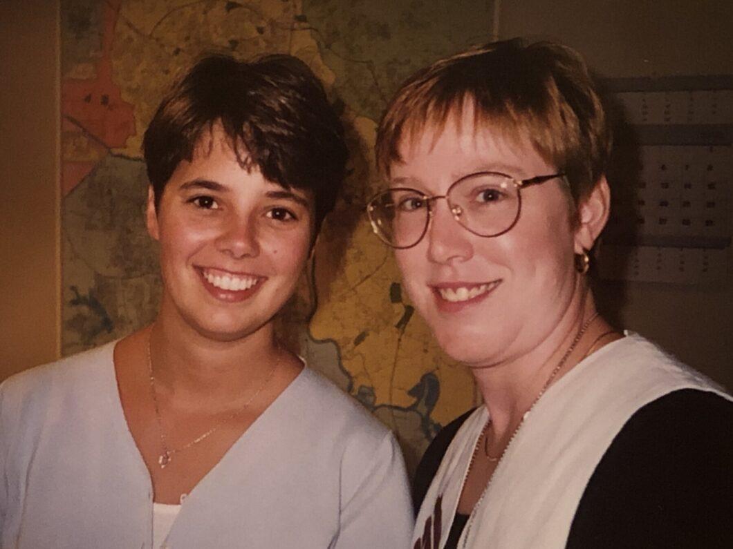 Siri Carpenter and A.J. Hostetler in 1998